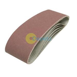 625574 5Pk Sanding Belts 75mm X 533mm 120 Grit Electric Sander
