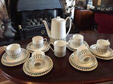 Rare Royal Grafton Handpainted Studio Coffee/ Tea Set - 20Pc