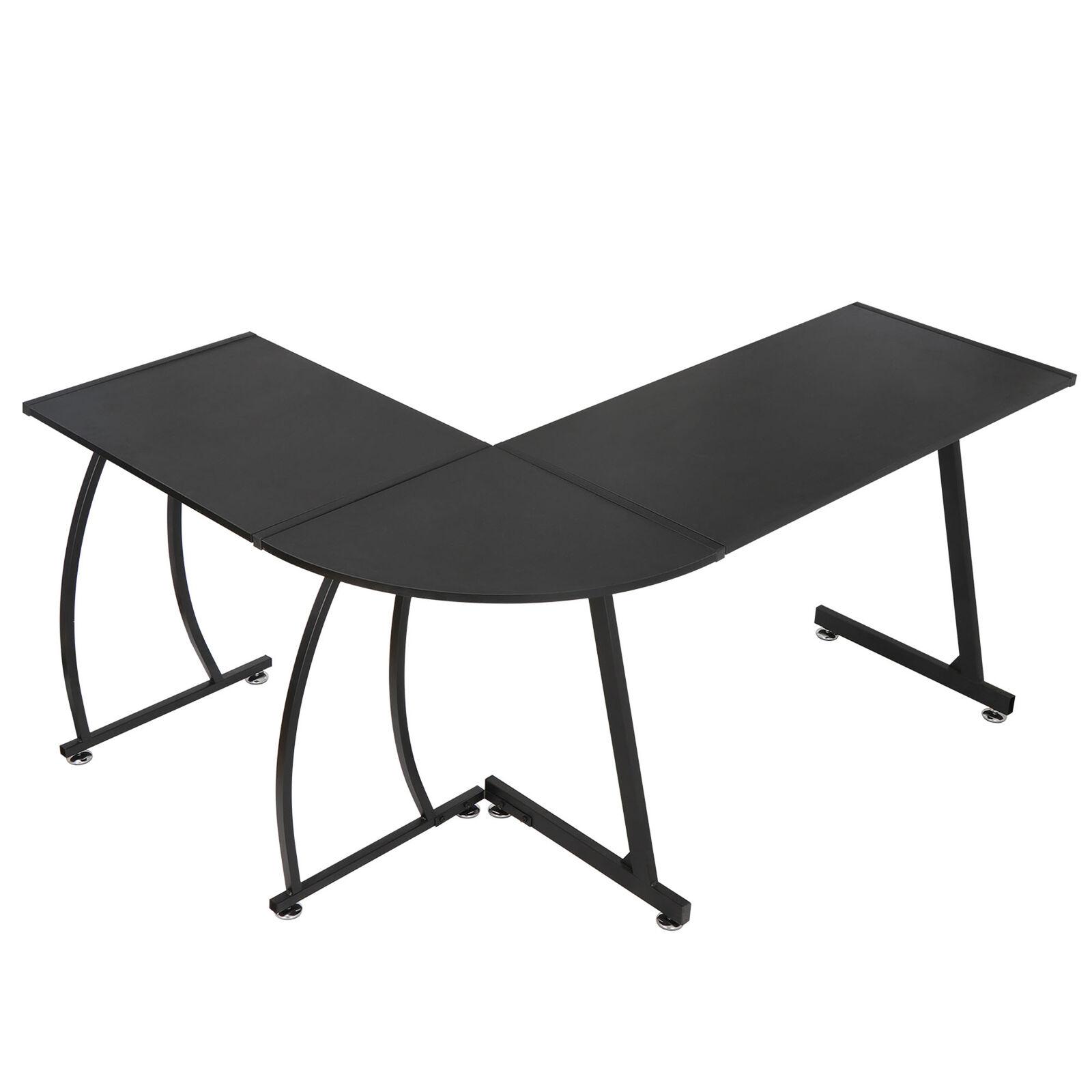 L-Shape Corner Desk Computer Desk Gaming Laptop Table Office Indoor Workstation Furniture