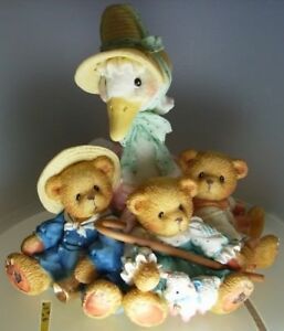 CHERISHED-TEDDIES-034-MOTHER-GOOSE-amp-FRIENDS-034-154016-NEW-amp-MINT-IN-BOX