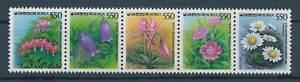 618501) Corée Sud 5 Agroenvironnemental Nº 1504-8 A ** Fleurs Apparence éLéGante