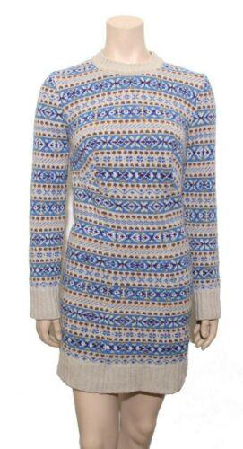 STELLA MCCARTNEY 2017 Fairisle Crewneck Sweater Dr