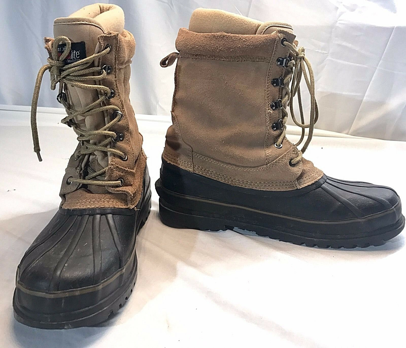 Xtreme Sports Power Thermolite Insulated Work Boots Steel Shank Men's Size 10
