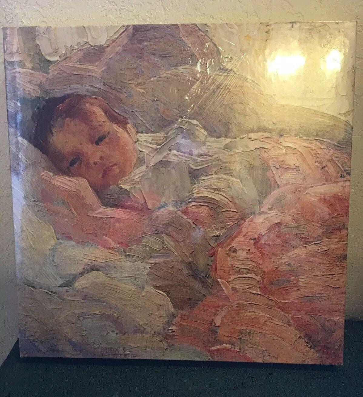 Baby - bildende kunst - tinte 500 pc - puzzle (john f. folinsbee) selten.neue