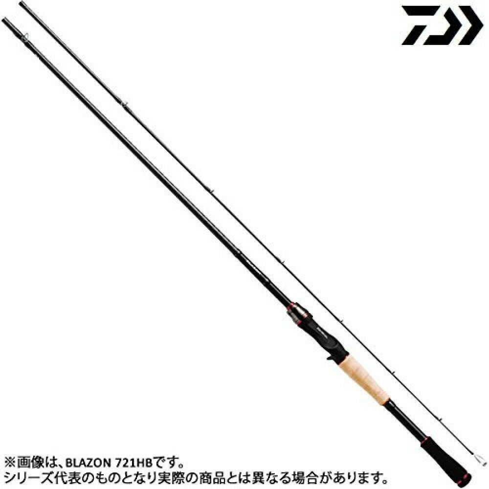 Daiwa Bass Rod bait Blazon 721HB From Japan