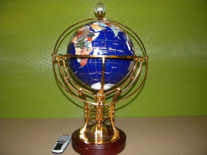 Neu   Beleuchteter Globus mit Elektromotor + FB.   50 cm