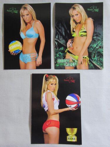 63 Regular 3 Card Lot RC Melissa Jo /'Mojo/' Hunter 31 79 2005 Bench Warmer