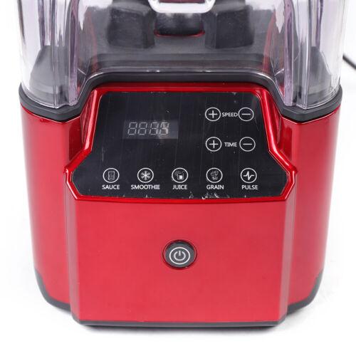 2.2L Commercial Soundproof Blender Smoothie Maker Mixer Juicer Soundproof 220V