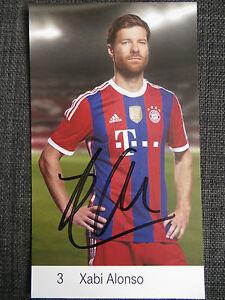 Handsignierte-AK-Autogrammkarte-XABI-ALONSO-FC-Bayern-Muenchen-14-15-2014-2015