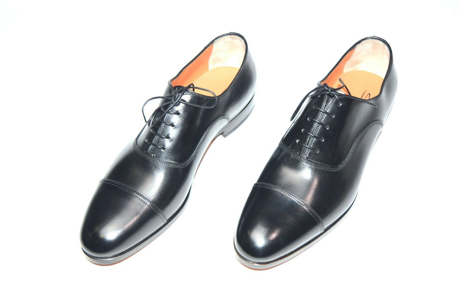Consumers First Gruppo Clark Black Cap Toe Oxford Dress Shoes Size Eu 44 us 11