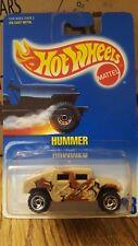 Tan Camo HG50 Hummer #188 Hot Wheels Blue Card