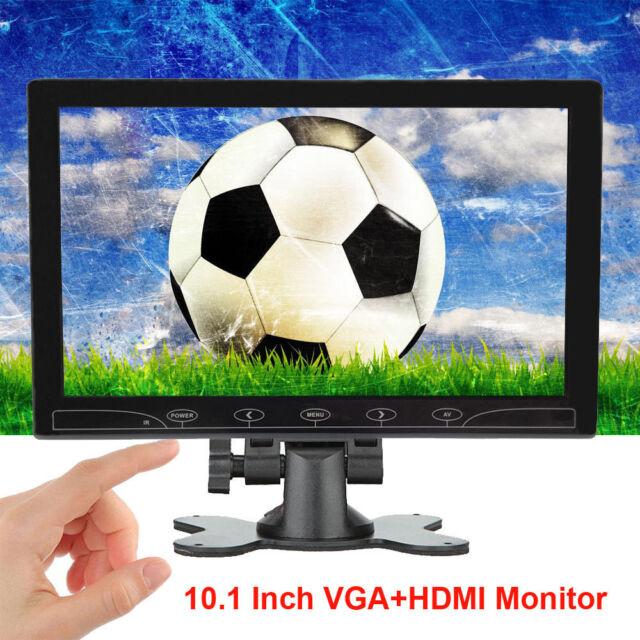 "US Mini 7/"" LCD CCTV Monitor HD PC Screen HDMI VGA AV RCA 1080p for Raspberry PI"