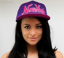 NY snapback caps, hip hop baseball flat peak fitted hats, unisex kids aztec girl
