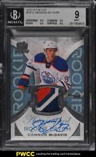 2015-16 UD The Cup Connor McDavid ROOKIE RC PATCH AUTO 33/99 #197 BGS 9 MINT