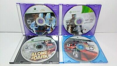 Xbox 360 Games Devil May Cry 4 Alone In The Dark Dead Space 3