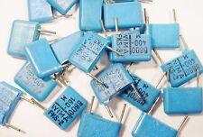 100 x Folien Kondensator 0,0068uF 6,8nF 400Vdc WIMA FKS-3 lose #19F62#