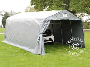 garagen pro 3 6x6x2 7 m pvc lagerzelt zelt carport garagenzelt schutz zeltgarage ebay. Black Bedroom Furniture Sets. Home Design Ideas