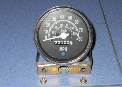 Willys M Series Jeeps MB GPW CJ2A CJ3A CJ3B Speedometer km h MPH WH
