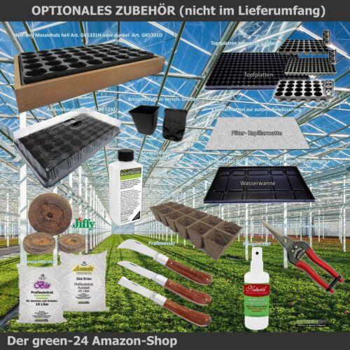 Hydroponik 240 Zimmer-Gewächshaus Profi XL mit automatischer Bewässerung Anzucht