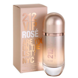 Detalles de 212 VIP ROSE de CAROLINA HERRERA Colonia Perfume EDP 80 mL Woman Rosé