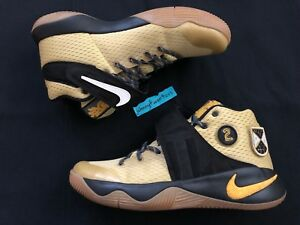 eb9c4c7dcb39f Details about Nike Kyrie 2 All-Star AS yellow patch patches all star size  9.5 835922-307