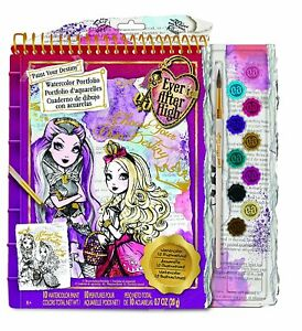 Ever After High Watercolor Portfolio - FREE SHIPPING