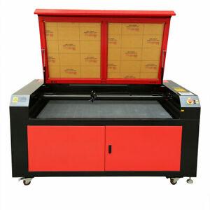 130W CO2 Laser Cutting Engraver Graveur Lasergravur Graviermaschine 1400x900mm