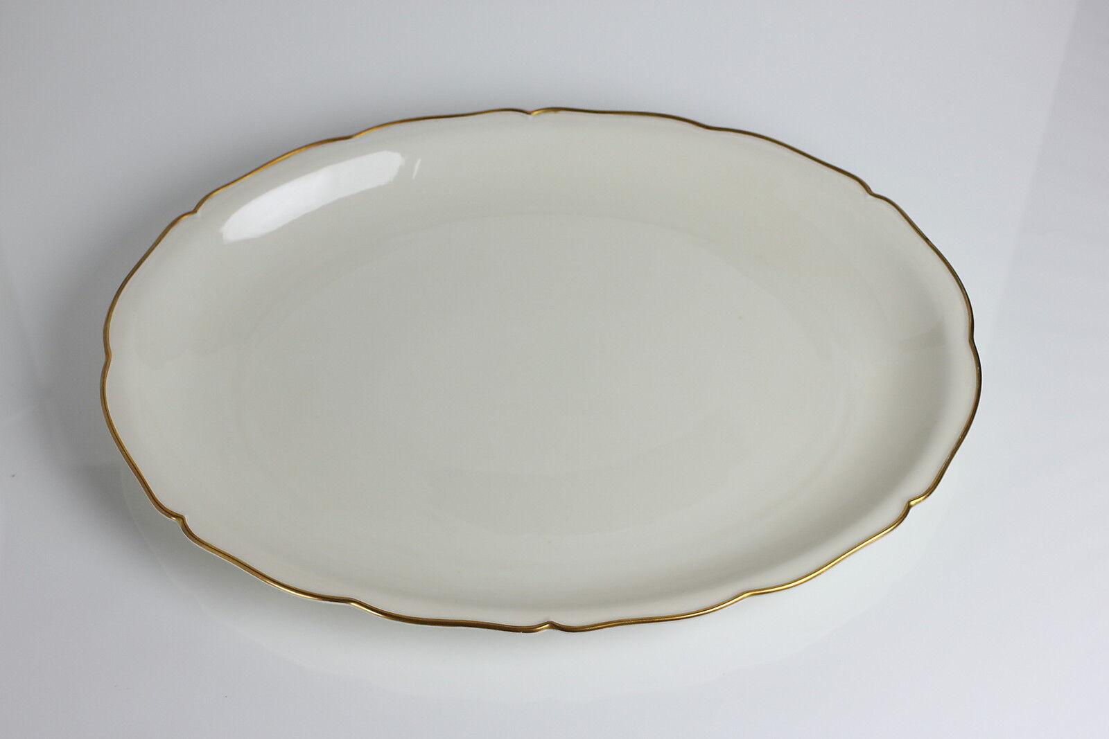 Große Seltmann Weiden U.S. Zone Fleischplatte Platte 27,5 cm x 39,0 cm Shabby  | Attraktiv Und Langlebig