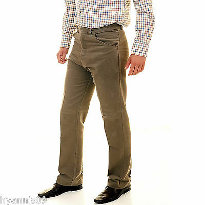 Moleskin Country Wear Trousers Olive and Beige  W30 upto W46