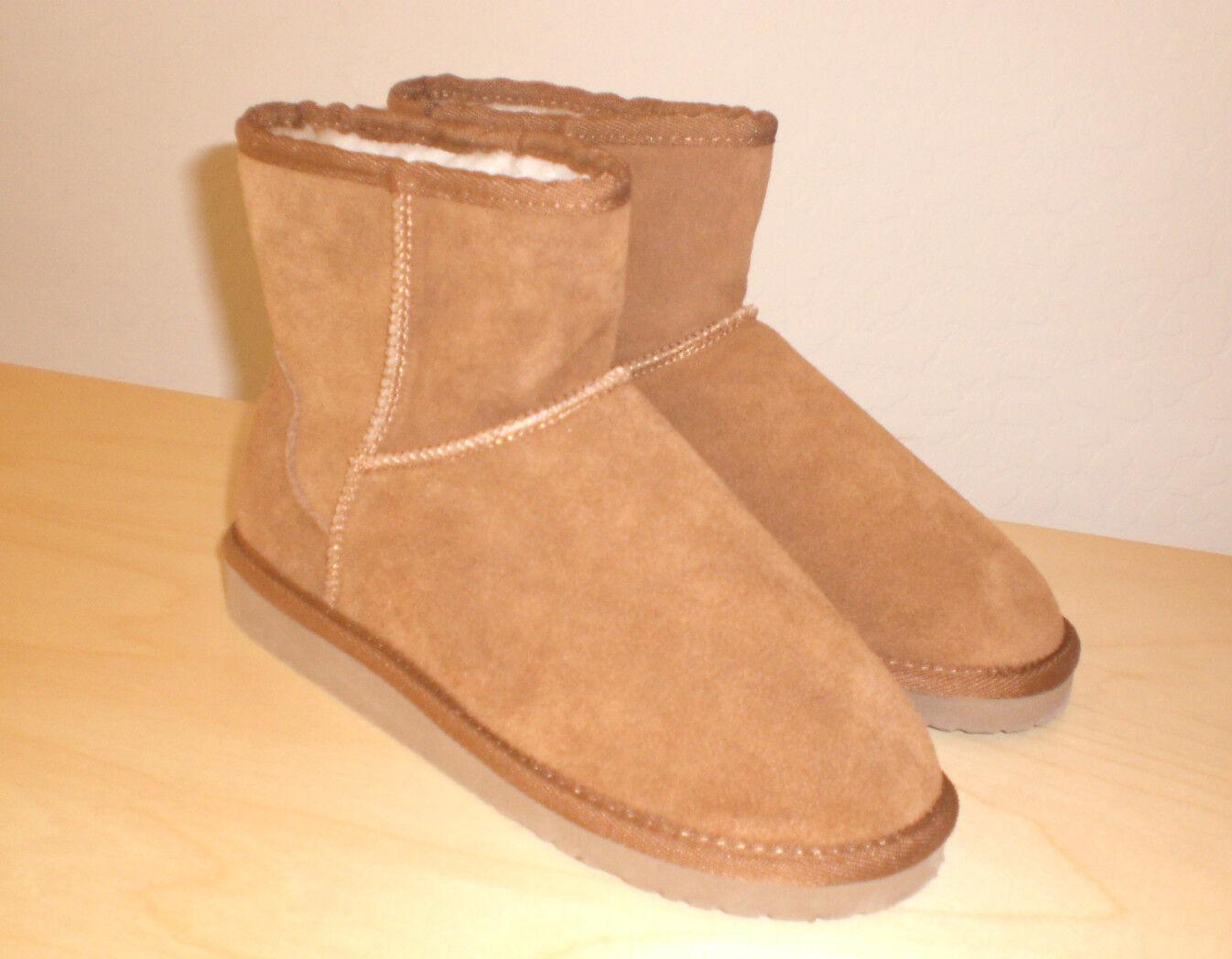 Easy Spirit Outdoor boot tan brown suede 7 Med NEW