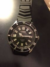 Vintage Rare Citizen Automatic Diver 150 m Military Issue