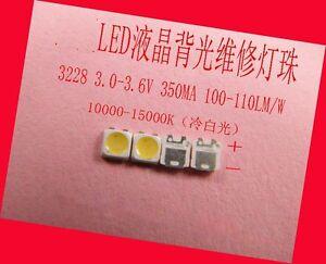 100PCS-LED-for-repair-samsung-LED-backlight-strip-3228-3V-350MA-cold-white-light