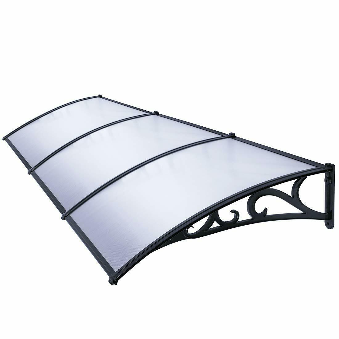 VIVOHOME Outdoor Window Front Back Door Canopy Awning Rain ...