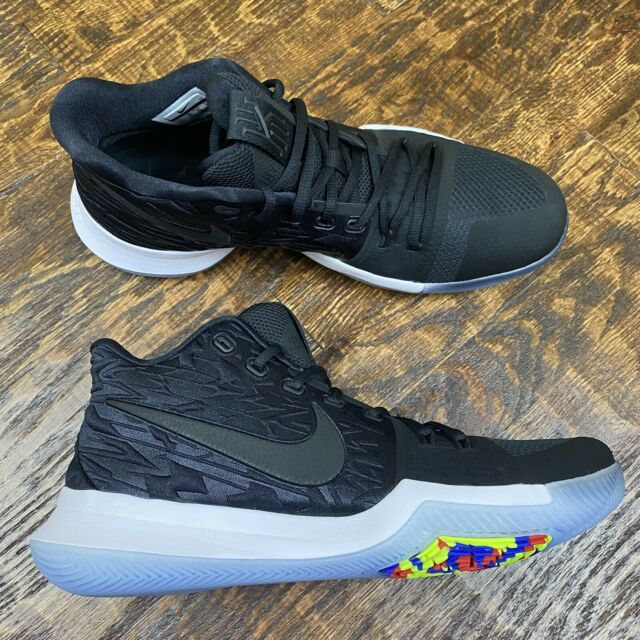Nike Kyrie 3 Black and Yellow Size 11