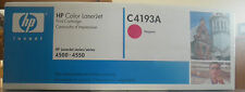 Toner HP d'origine NEUF C4193A Magenta laserjet 4500/4550 emballage impeccable