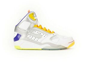 pretty nice 7ba00 b25d0 Image is loading NEW-Nike-Air-Flight-Lite-High-White-Men-