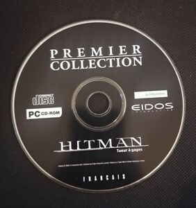 Premier-Collection-Hitman-PC-Game-CD-Rom-Eidos-Extremely-Rare-French-Francais