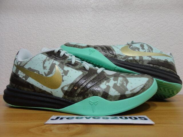 Kobe KB Mentality FIBERGLASS Sz 8.5 100% Authentic Nike Retro IX X XI 704942 301