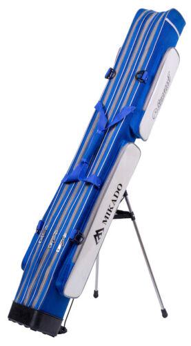 MIKADO Surfcasting-Rutenfutteral mit 3 Fächern 150cm Rutentasche Futteral Rohr