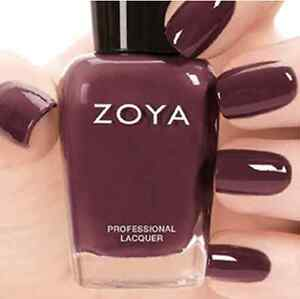 ZOYA ZP745 MARNEY Naturel 2 Collection MARNIE ~ warm plum cream nail ...