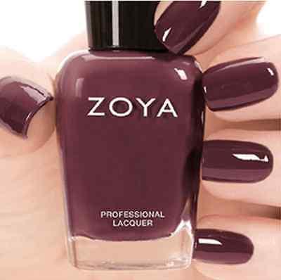 ZOYA ZP745 MARNEY Naturel 2 Collection MARNIE ~ warm plum cream nail polish NEW