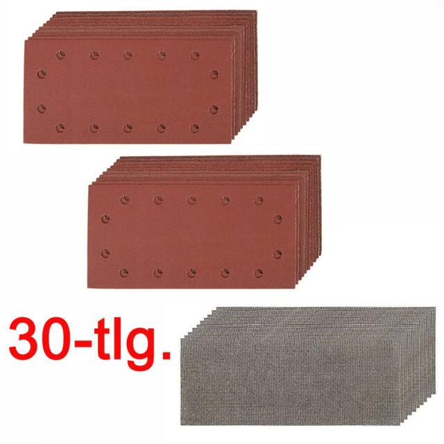 P12 C Bosch Schwingschleifpapier gelocht Klett 185 mm x 93 mm 50 St.