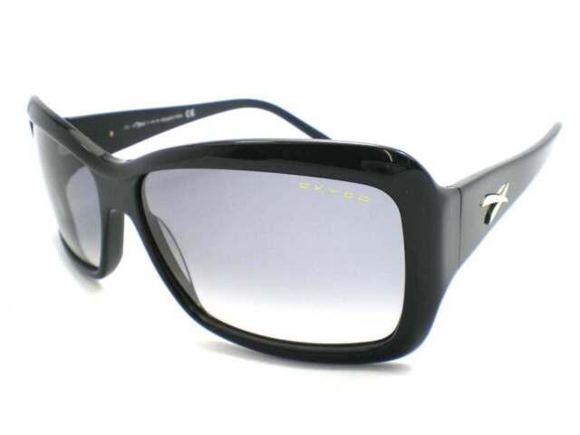 OXYDO - FLORE women s Shiny Black Sunglasses with Grey Gradient Lens 807-LF 68fcebbcc4