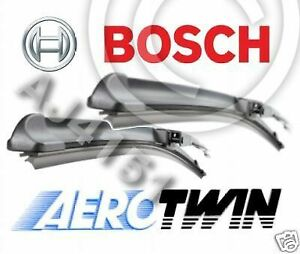 BMW 5 Series E60 E61 NEW GENUINE BOSCH A955S Aerotwin Front Wiper Blades Set