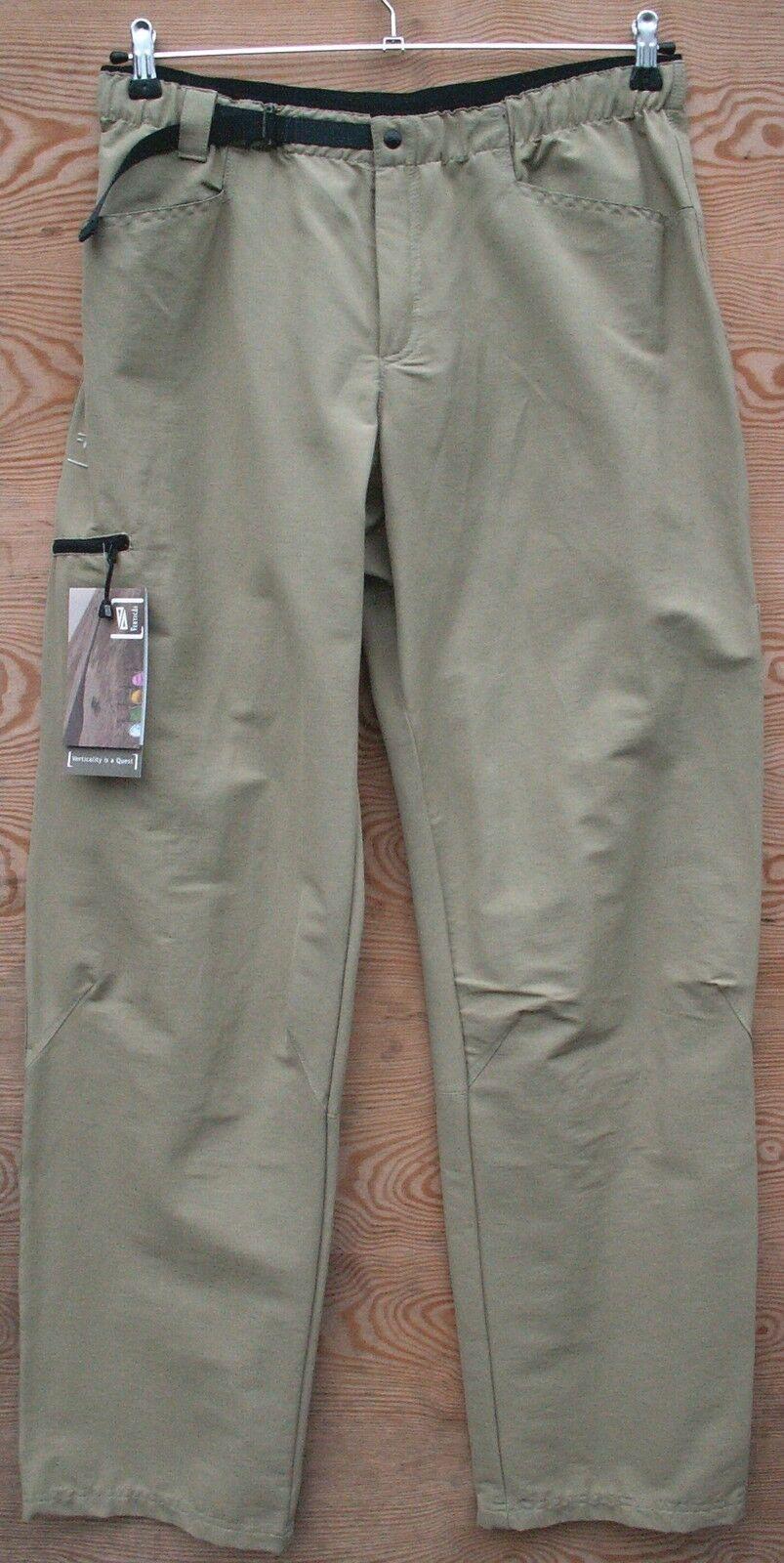 greenical Outdoor Climbing Pants Men's Hampi Pants, Beige
