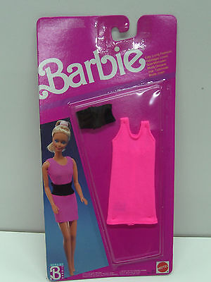 VINTAGE BARBIE 1989 EASY LIVING FASHION DRESS MOC CLOTHES #6632