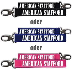Energisch Neopren Schlüsselanhänger Schlüsselband American Staffordshire Terrier Hunde Dog Rabatte Verkauf