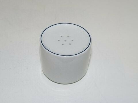Porcelæn, Blåkant  Saltbøsse, Blåkant  Saltbøsse