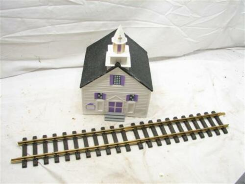 GScale Gauge Church Building House Garden Railway Display Train Village Model