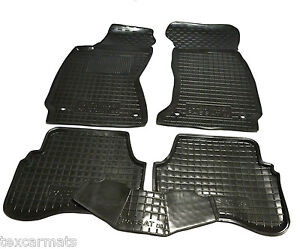 VW-Passat-B5-1997-2004-Rubber-Car-Floor-Mats-All-Weather-Carmats-Alfombrillas